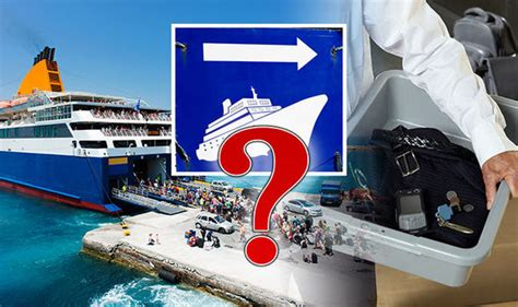 Cruise Line Security by Do Cruises Offer High Security When Passengers Are Boarding Cruise Travel Express Co Uk