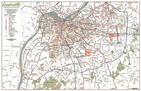 map of louisville ky maps update 31202770 louisville tourist attractions map louisville tourist attractions map