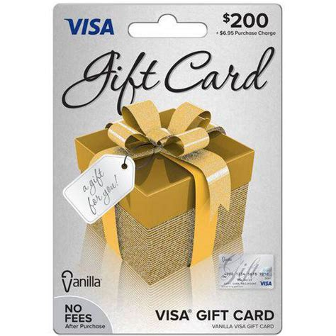 What Is A Visa Gift Card - visa 200 gift card walmart com