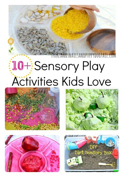 10 Free Activities To Enjoy by 10 Sensory Play Activities Fspdt