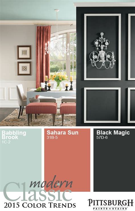 modern classic 2015 paint color trend blending soft neutrals with clean colors visit the