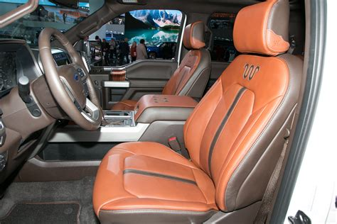 King Ranch F250 Interior by Refreshed 2018 Ford F 150 Adds Power Stroke Diesel More