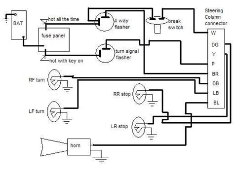 Turn Signal Wiring The 1947 Present Chevrolet Amp Gmc