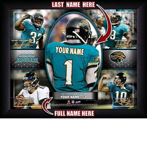 jacksonville jaguars college 32 best images about personalized nfl football