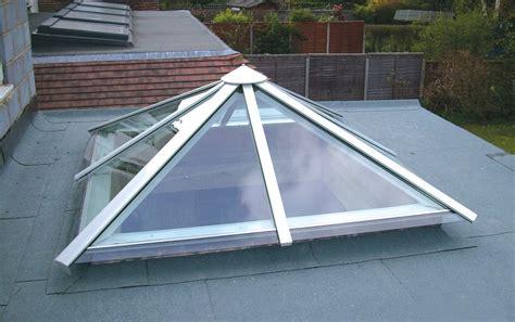 Pyramid Shaped Roof Glass Aluminium Pyramid Rooflights Rooflights And Glazing