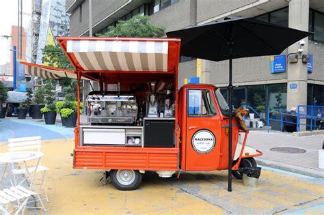 Mobil Up Piaggio Ape Mini macchina toronto food trucks toronto food trucks