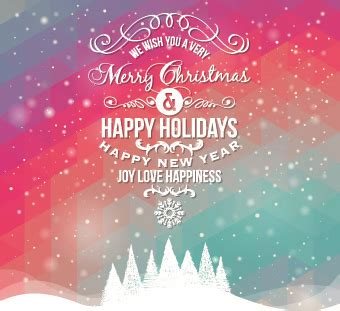 happy holidays  vector    vector  commercial  format ai eps cdr