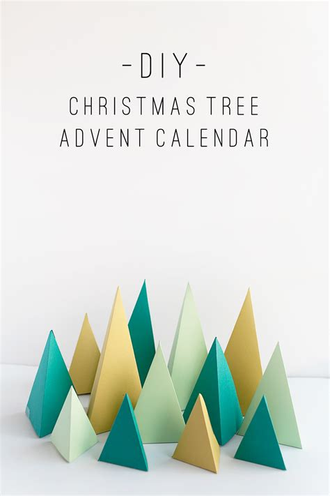printable advent calendar christmas tree tell diy christmas tree advent calendar tell love and party