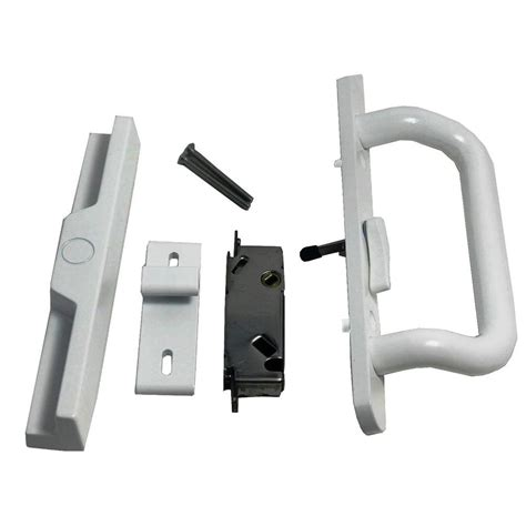 Patio Door Latch Lever by Barton Kramer 3 5 16 In Center Lever Surface Mount Patio