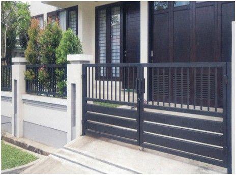 desain pagar minimalis modern 22 best images about pagar rumah on pinterest fence