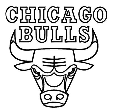 Coloring Pages Of Bulls chicago bulls coloring pages coloring home