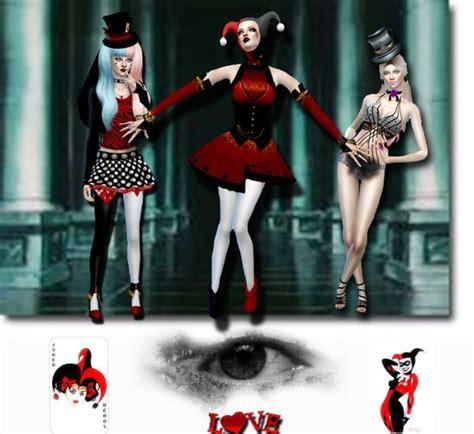 harleyquinn sims 4 updates best ts4 cc downloads les sims 4 passion harley quinn sims 4 downloads