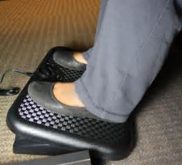 foot rest under desk heated footrest for your desk or table