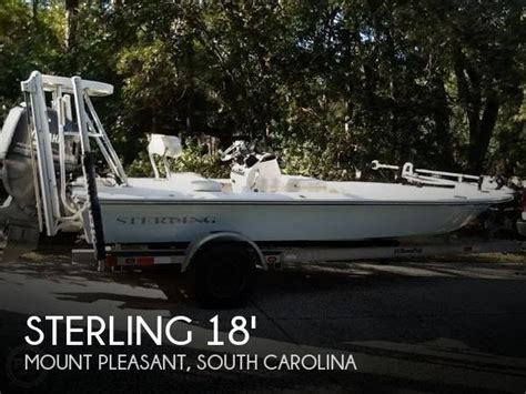 flats boats nc unavailable used 2005 sterling powerboats 18 flats boat