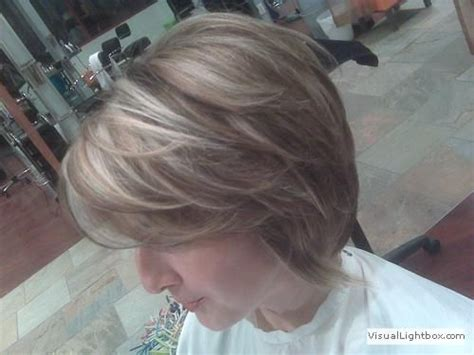 perm and blend gray with blonde blending in greys in brown hair yahoo search results