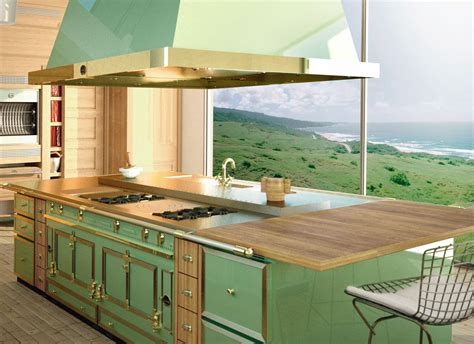 Brights, Pastels and Neutrals: Luxury Colorful Kitchen