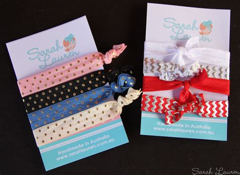headband display card template diy fold elastic hair ties headbands be a
