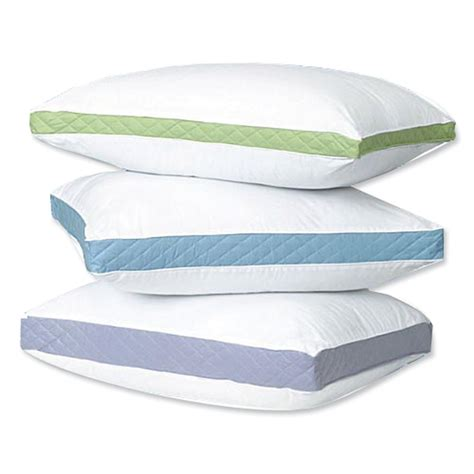 pillows for beds gusseted bed pillows curtain bath outlet
