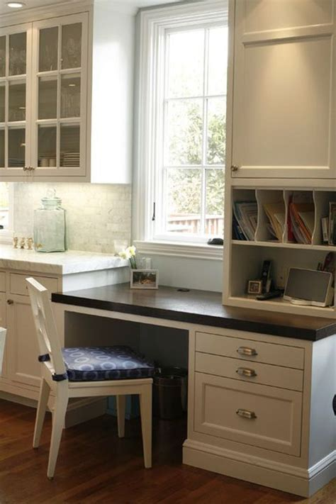 Small Desk For Kitchen Best 25 Kitchen Desk Areas Ideas On Kitchen Desks Kitchen Office And Kitchen Work