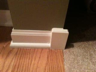 Baseboard Transition   Flooring   DIY Chatroom Home