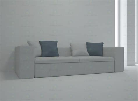 high tech sofa 3d model springfield sofa in the style of high tech
