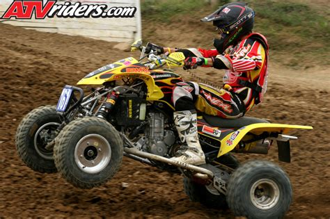 Suzuki Racing Atv Ama Pro Atv Motocross Racer Lawson Back With Walsh