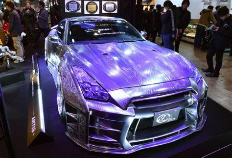 nissan dark blue 2016 tokyo auto salon nissan gt r dark blue style tuning