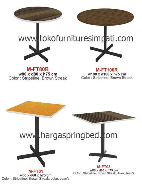 Meja Kafe Informa meja makan kursi makan dining table meja makan minimalis