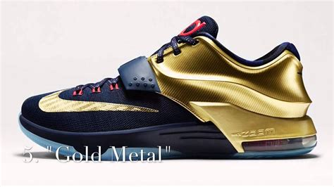 color ways top 10 kd 7 colorways