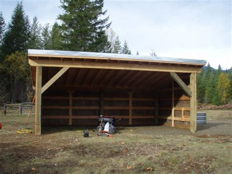 Loafing Shed For Horses by 1000 Images About Barn Loafing Sheds Run Ins On