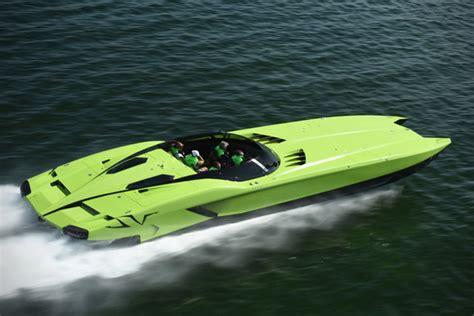 the lamborghini boat lamborghini aventador super veloce speedboat hiconsumption