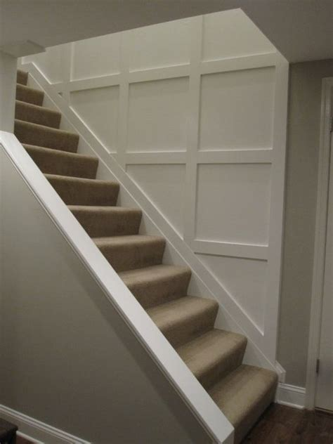 Adding Wainscoting To Walls by Opening Downstairs Entry By Cutting Away Wall And Adding