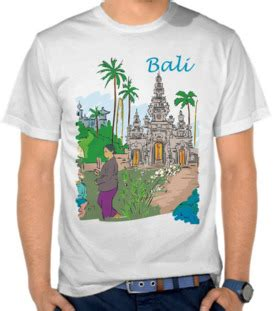 kaos baju rangda bali merah jual kaos denpasar bali toko baju indonesia satubaju
