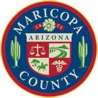 Superior Court Az Records Maricopa County Arizona Seal Vector Image