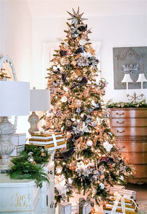 decorating for christmas with gold blue and gray parade of trees 2016 featuring balsam hill