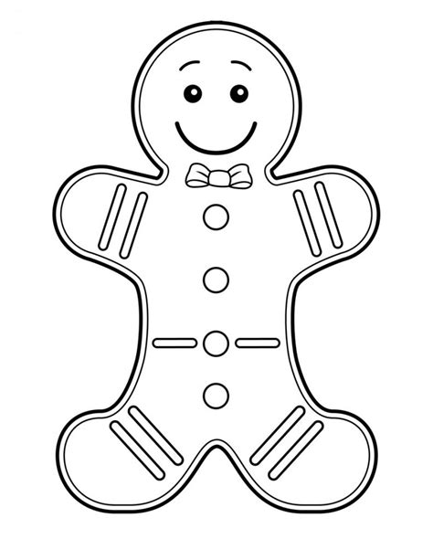 coloring book page gingerbread man free printable gingerbread man coloring pages for kids