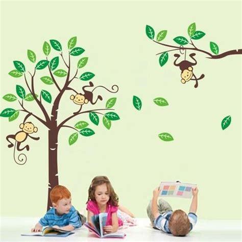 wandtattoo kinderzimmer schweiz wandtattoo kinderzimmer schweiz kaufen affen wald 877490