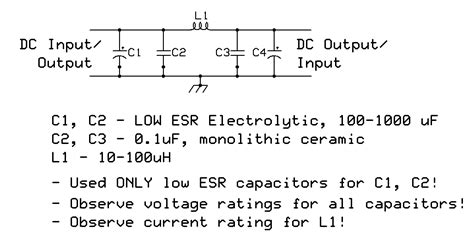 output capacitor smps ka7oei s completely containing switching power supply rfi