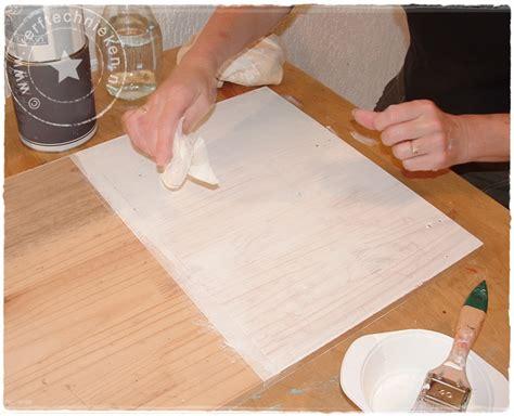White Wash Verwijderen by White Wash Olie Aanbrengen Naambordje Voordeur Messing