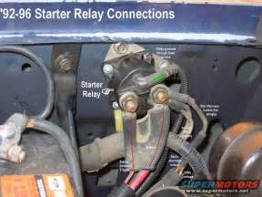 Ford Starter Solenoid Wiring 1983 Ford Bronco General Purpose Pics Picture
