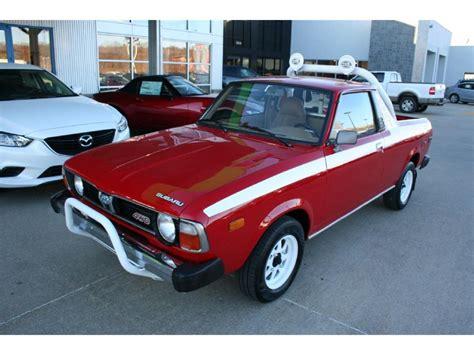 subaru brat for sale 1979 subaru brat for sale classiccars com cc 930455