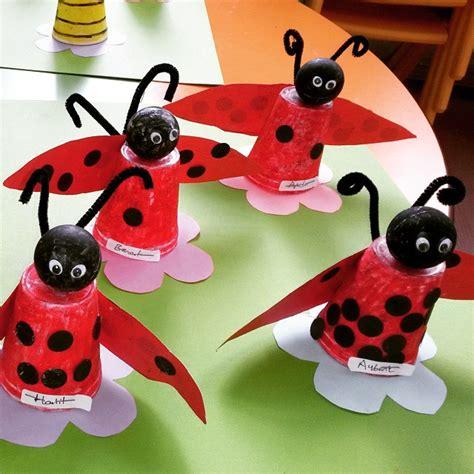 Paper Ladybug Craft - ladybug craft idea for crafts and worksheets for