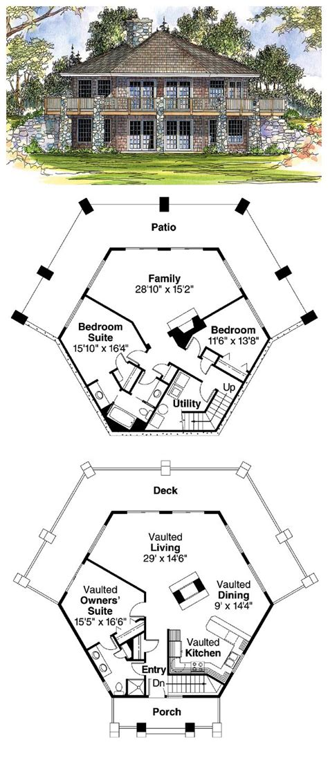 octagon cabin plans 25 best ideas about octagon house on pinterest round