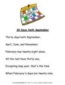 My handprint calendar poems new calendar template site