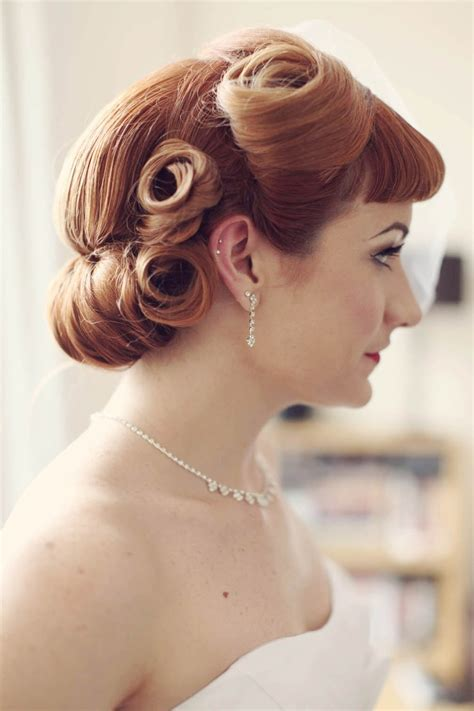 Vintage Wedding Hair Cardiff by 166 Besten Brautstyling Bilder Auf Frisur