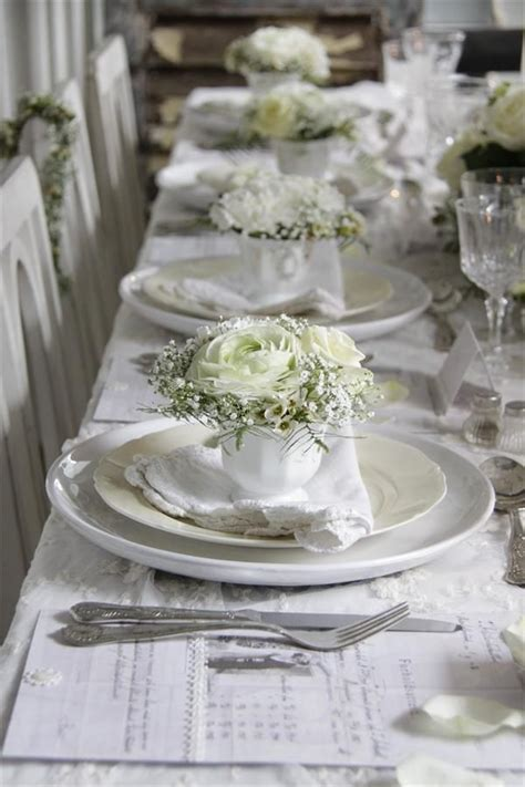 shabby chic tablescapes pinterest