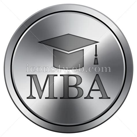 Mba Rounds mba icon icon imitating metal
