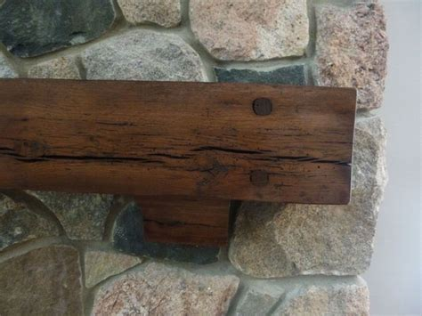 Rustic Fireplace Mantel Corbels Rustic Beam Mantel And Corbels 6