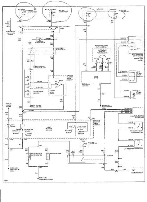 2000 Ford Explorer: A/C fuse..Blowing warm..warm air