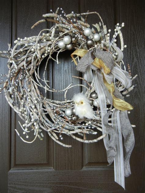 adorable winter wreath idea white christmas pinterest